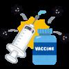 ワクチン2回接種完了(モデルナ)。1度目→筋肉痛、2度目→発熱