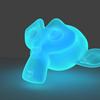 Blender ホログラムのようなマテリアルの作り方