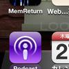 Podcastがミュージックから独立アプリになった