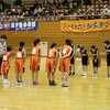 東海市小学校バスケットボール大会② 女子1試合目