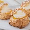 米粉でクッキーシュー+レモンカード(グルテンフリーレシピ)