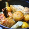 りんごとごぼうと豚ロース肉のスパイス煮込み