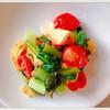 作り置き!小松菜と油揚げとトマト煮レシピ