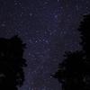 然別湖北岸野営場のキャンプで満天の星空が!