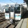 E257系M102編成 回送列車 南松本駅
