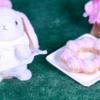 【ポン・デ・いちごもちクリーム】ミスド 7月3日(金)新発売、ミスタードーナツ もちクリームドーナツコレクション 食べてみた!【感想】