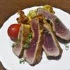 【マグロ】漬けマグロのレアステーキ 3種のスパイスと醤油で風味豊かに