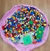 【LEGO】片付けが一瞬で終わる!LEGOの数が増えてきたら「おもちゃ収納袋」が大活躍