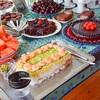 18歳の誕生日パーティーに贈る寿司ケーキ