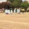 サッカー大会 準決勝開始