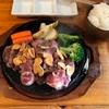 🚩外食日記(64)    宮崎ランチ   「けんちゃんステーキ」② より、【アンガスプレミアけんちゃんステーキ300g】‼️