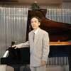 大阪府立弥生文化博物館エントランスホールでの  ピアノ演奏会-当日の様子です。