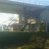 圏央道とあゆみ橋と大山