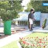 国際交流基金主催の文化ミッションで訪問した日本人墓地参拝の模様がウズベキスタンのニュースで放映されました