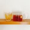 水出し紅茶とガラスポット