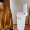 ☆お買い物レビュー☆リビングトート 斜めペダル式ごみ箱