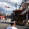 2016年9月4日(日)岸和田だんじり祭・試験曳きの様子と、大雨の中での気付き。