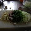 幸運な病のレシピ( 665 ) 夜:パテから作った餃子、とんかつ、汁