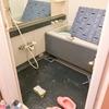 ホーロー浴槽の塗装と床のプチリフォーム