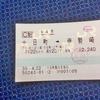 湯田中自転車紀行(5)/番外編:輪行旅のたのしみ