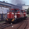 1991年東北旅行(4) 小坂の機関車入れ替え、ディーゼルカー