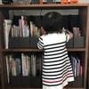 絵本は子どもが片付ける!無印良品で作るリビングに置く「絵本棚」
