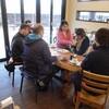 Cafeさくらのお客様3 第2AMAの植栽工事、卓球大会結果