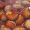 土鍋で炊いた栗ご飯 神戸三宮の地鶏料理は安東へ