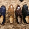 ウィズも革も豊富な荒井弘史靴誂え室でフィッティングを見てもらいました!