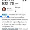 Android コンテキストメニューへのEBPocketの登録と検索