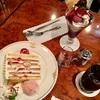 ユーハイム神戸元町本店 パフェとケーキでご満悦