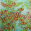 Monarch Butterflies, El Rosario Butterfly Reserve, Michoacán, Mexico