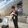 大阪駅前でバッタリ、ライブに遭遇