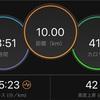 【ラン練習】やっと10km走れた!