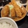 秋の海鮮フライ定食