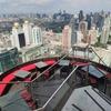 ルーフトップバー(Rooftop Bar)『レッド・スカイ(Red Sky)』の圧巻の眺めと美味しいランチに大満足