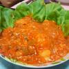 今日の晩飯 エビのチリソース炒め チャーハン 中華風コーンスープを作ってみた