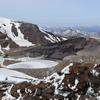 御釜(※5月は要注意)|真冬のような寒さで湖も凍っていた:宮城県蔵王町