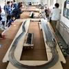 TOMIXの組み線路(+KATO 複線カントレール)で本線の複線間隔を詰めて(27mm)みる(その9)第14回ごてんば線まつりで運用