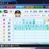 仁藤投手、引退する(パワプロ2018マイライフ・17年目)
