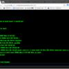 WebSSHっぽいことをしてみる。