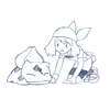 今日のトレス:ハルカとフシギダネ