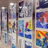 湘南台駅の地下通路でアート