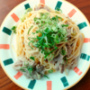【レンジパスタ】豚肉キャベツの簡単味噌パスタ
