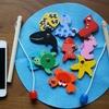 【子連れ沖縄旅行記16】お部屋でゴロゴロ。フライングタイガーで買った魚釣りのおもちゃが活躍