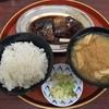 今井食堂の「さば煮定食」