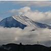【初冠雪】彦根地方気象台は本日23日に伊吹山の『初冠雪』を発表!平年より7日遅く、昨年と比べても7日遅い観測に!!