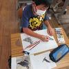 5年生:図工 「大造じいさんとガン」を読んで