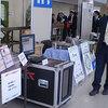 HPCサーバ+静音ラック 学会展示の様子