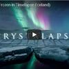 アイスランドで撮影された美しき青の世界